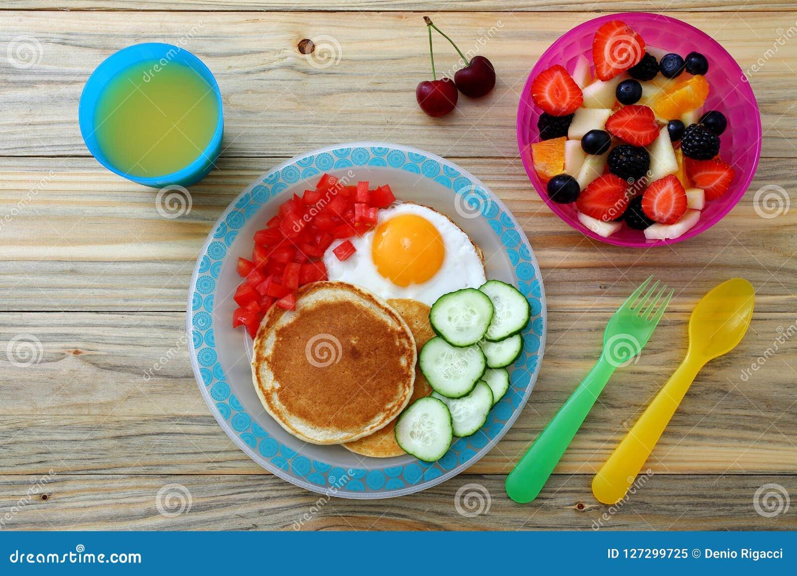 Healthy Breakfast Pancake Sandwich Club