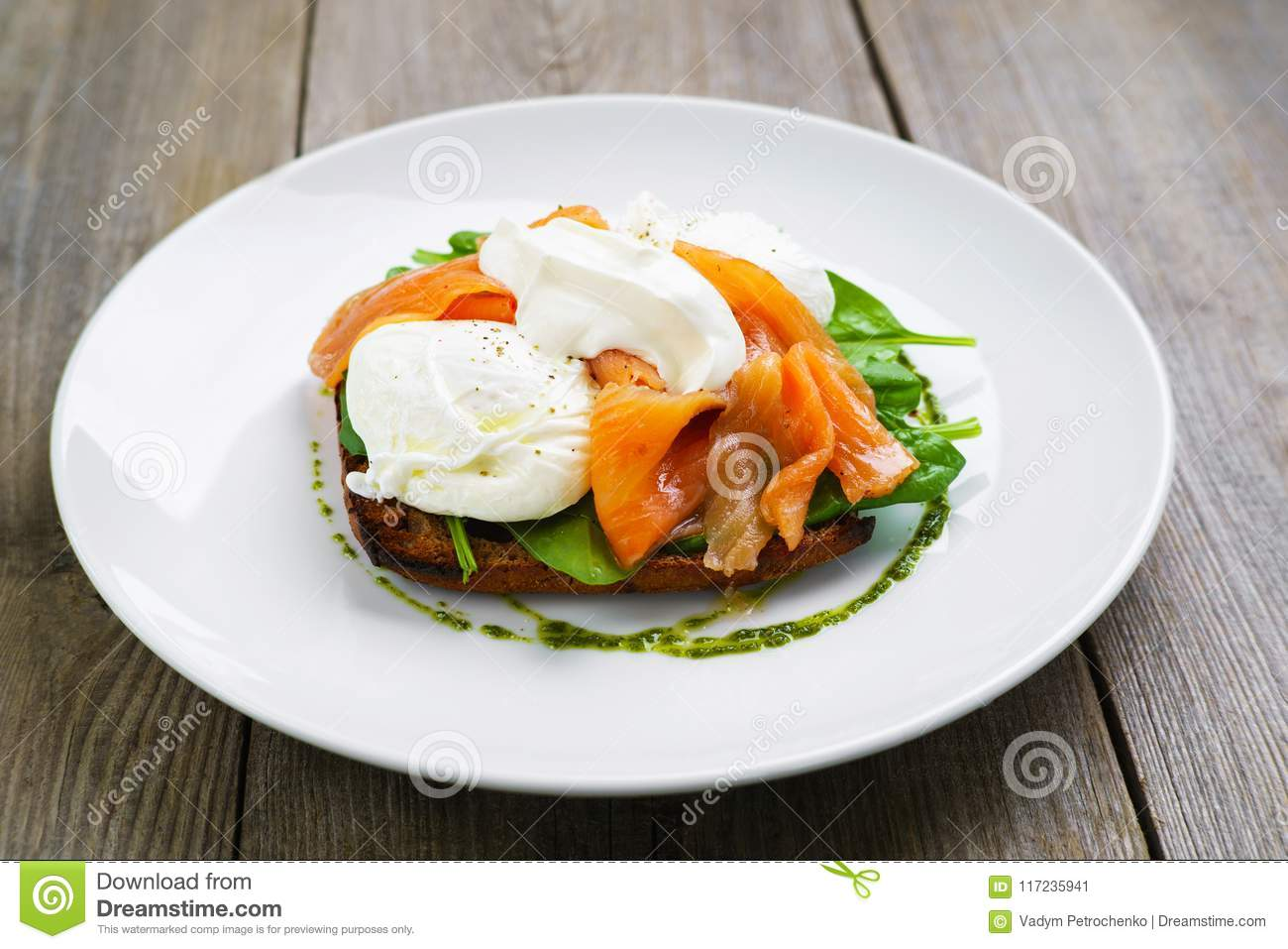 Protein Salmon and Eggs on Toast forecast