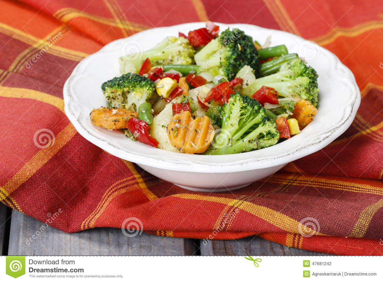 how to make vegetable salad for diet