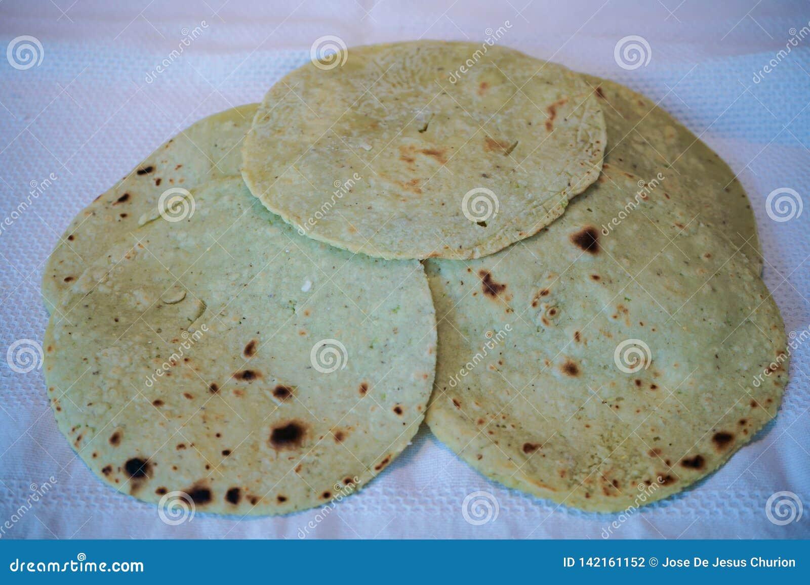 Healthy cactus tortillas.