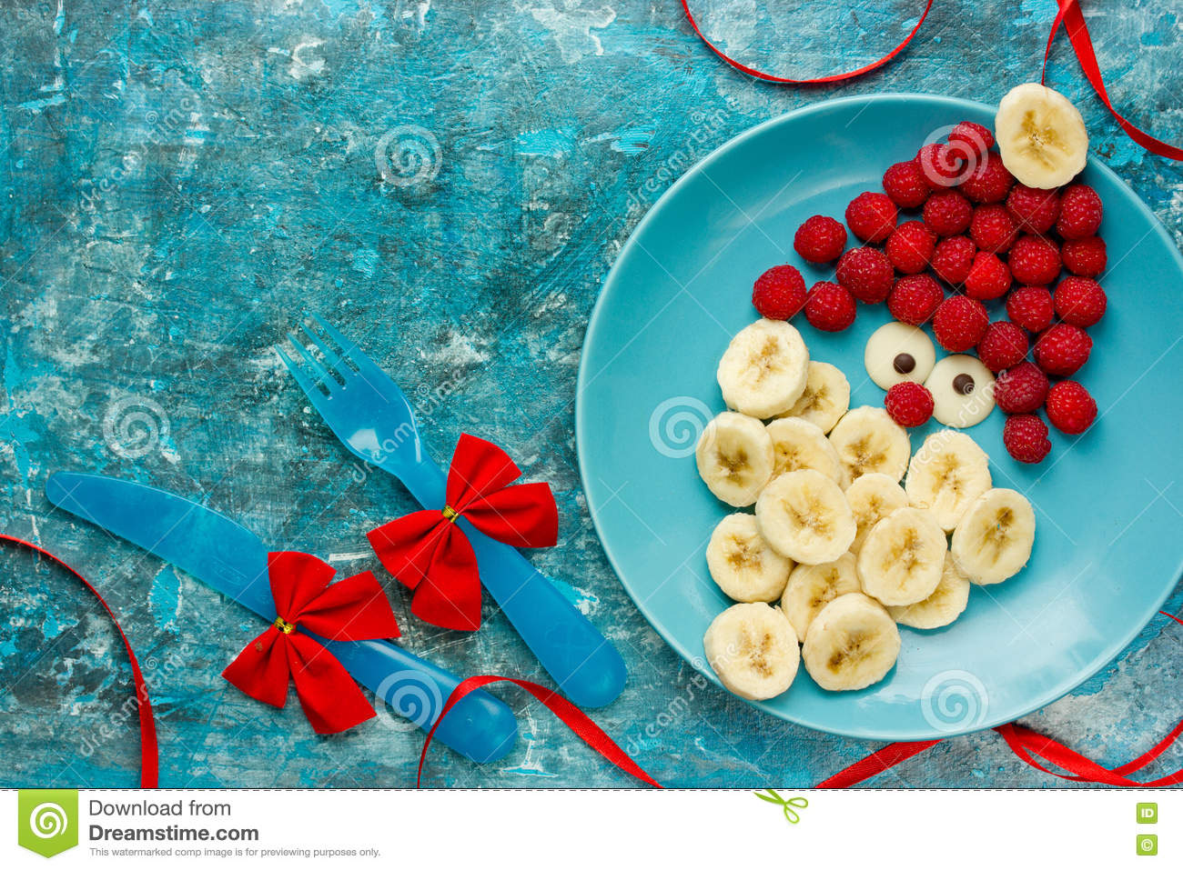 Healthy Christmas Dessert Snack Breakfast For Kids - Raspberry B ...