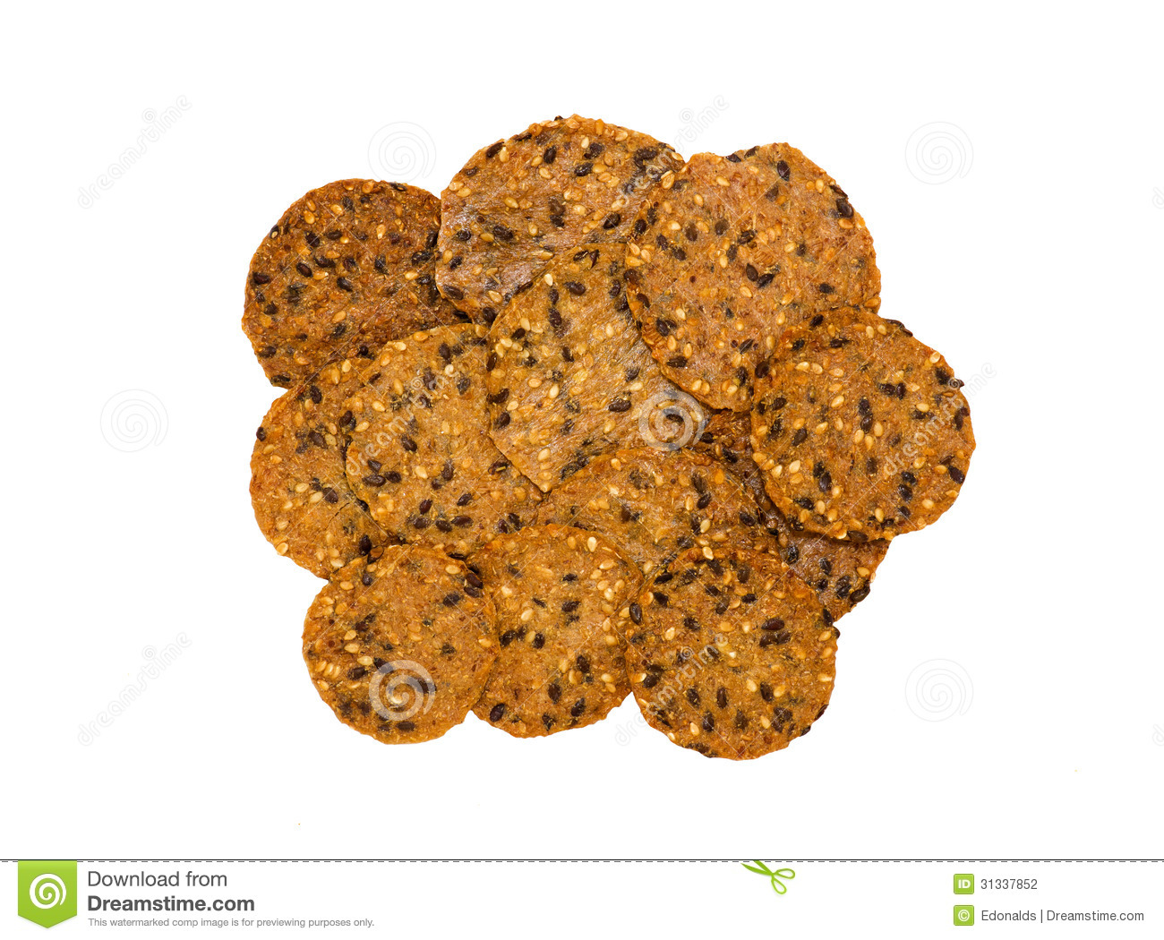 Healthy Crackers Stock Photography Image 31337852