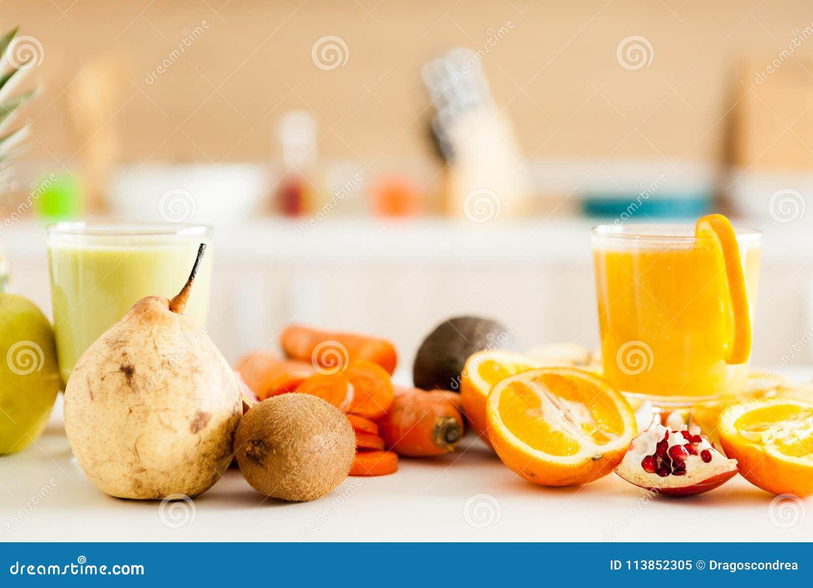 Healthy and delicious organic juice