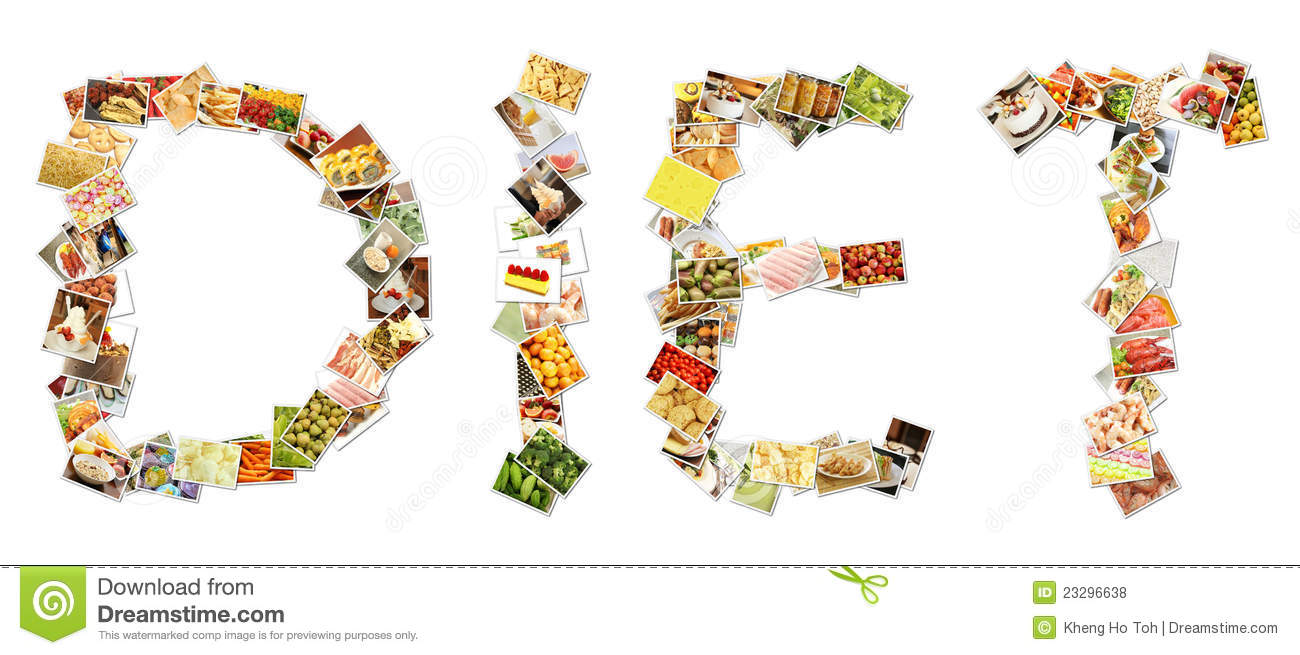 Healthy Diet Collage Royalty Free Stock Photos - Image: 23296638