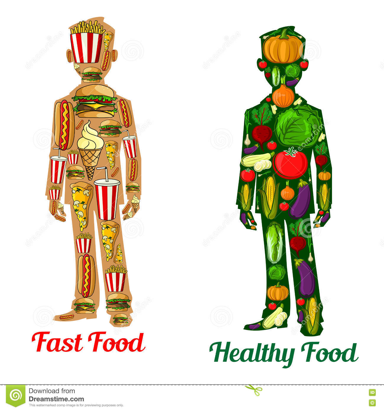 the effects of eating unhealthy foods on our body Health risks related to unhealthy eating include over-consumption,   recommendations109 however, access to unhealthy food options are.