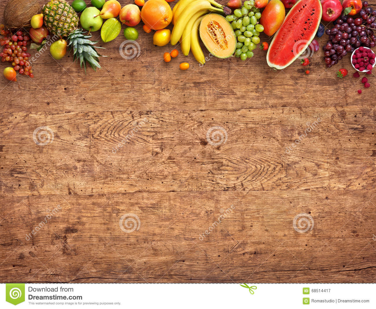 Healthy eating concept. Studio photo of different fruits.