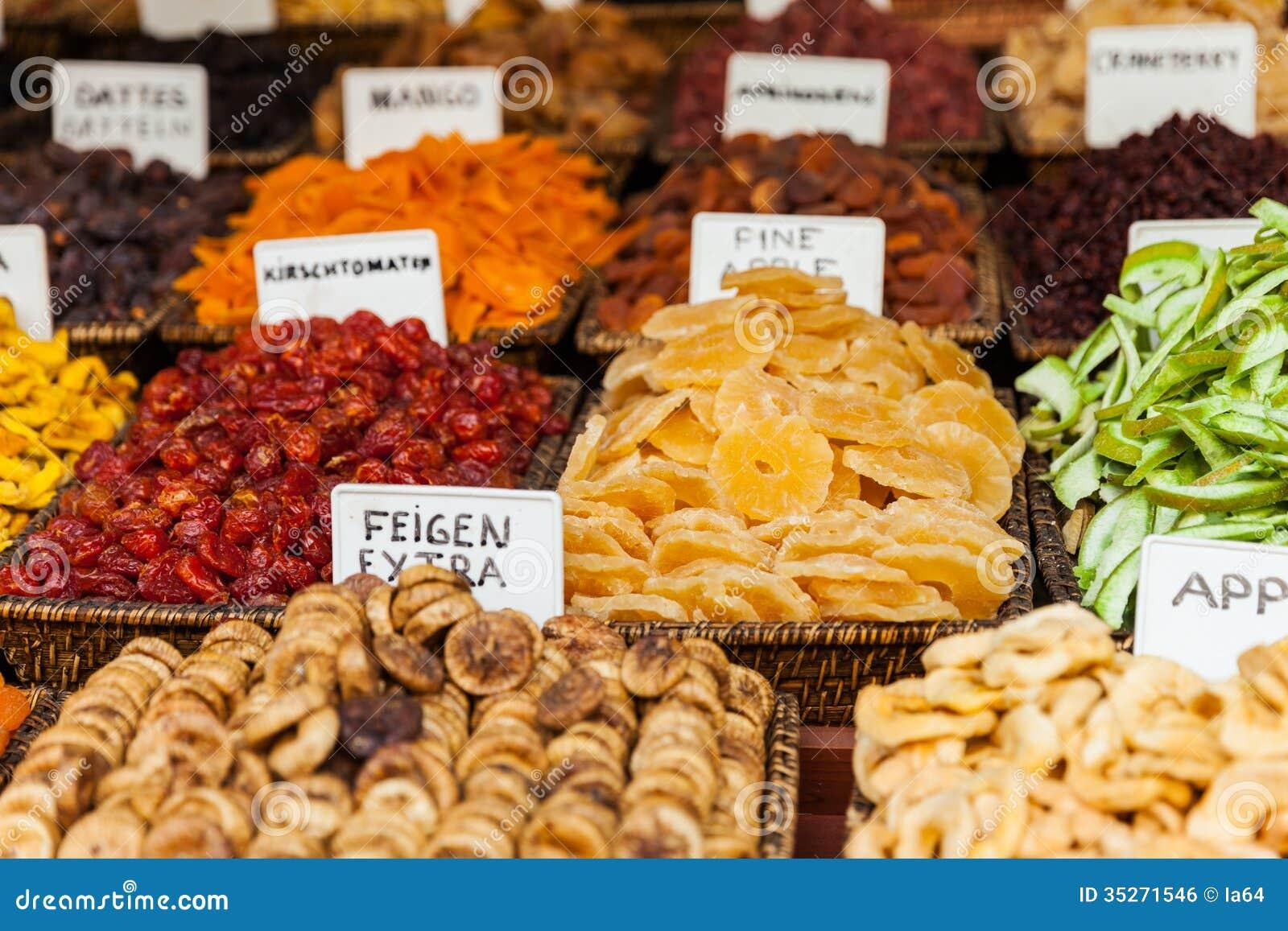 fruit market is dry fruit healthy