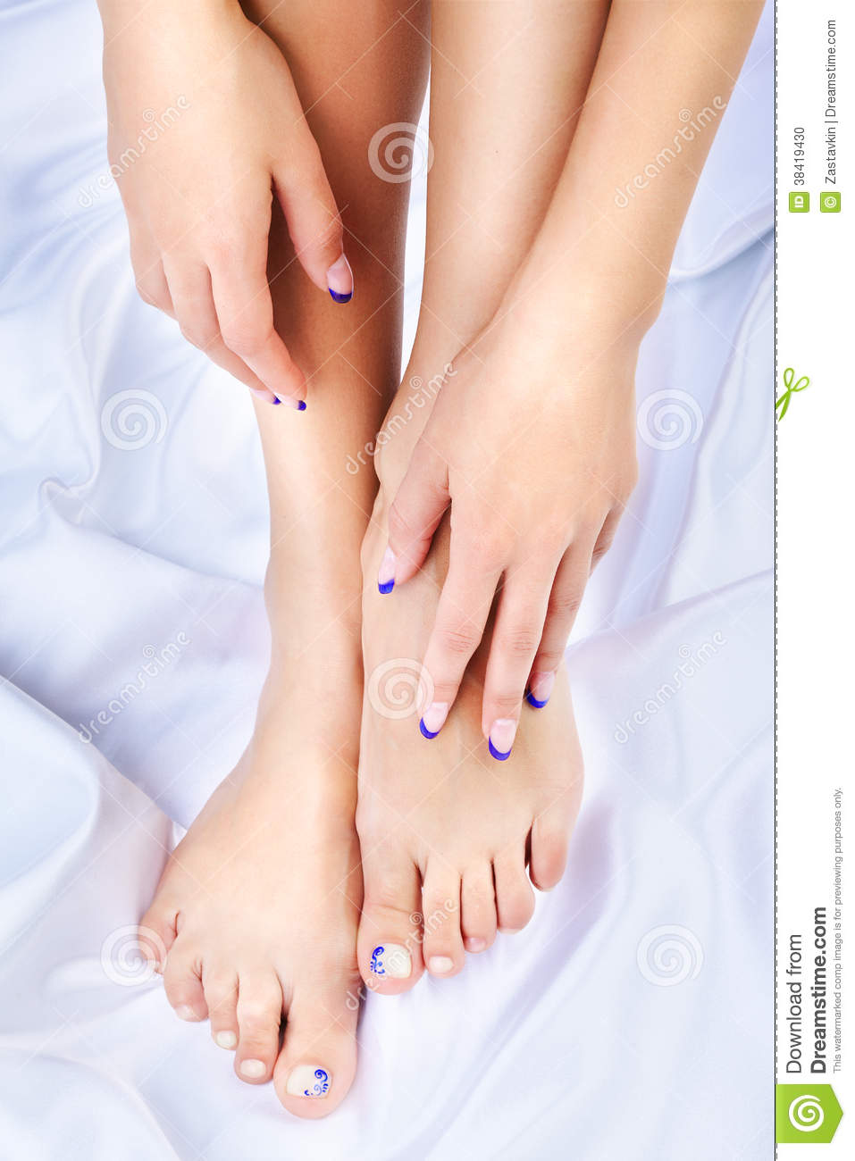 Healthy Feet And Hands Stock Photo - Image: 38419430
