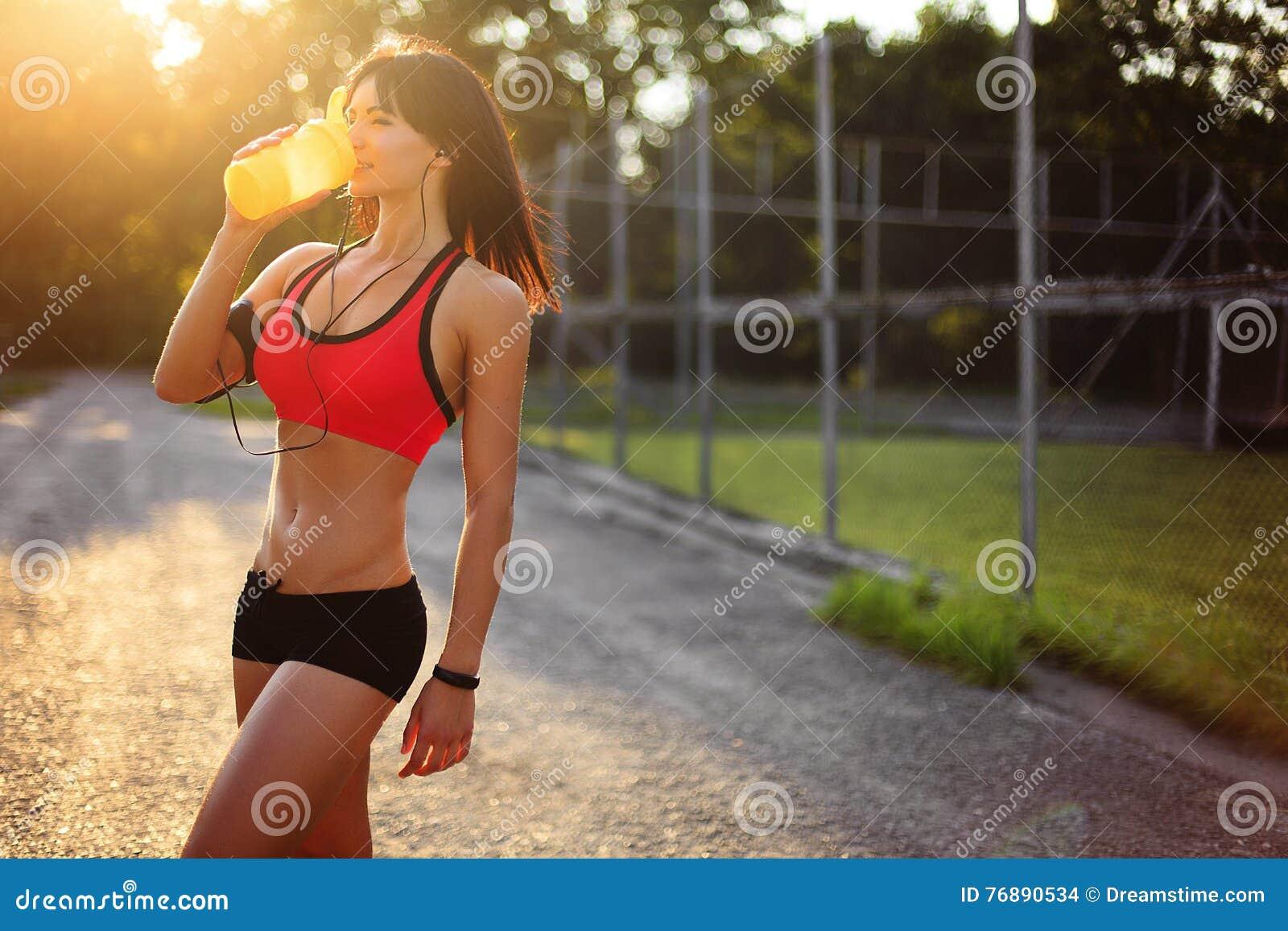 proteinshake joggen