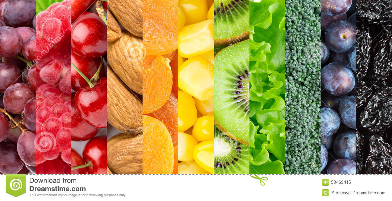 healthy vegetables and fruits almond fruit