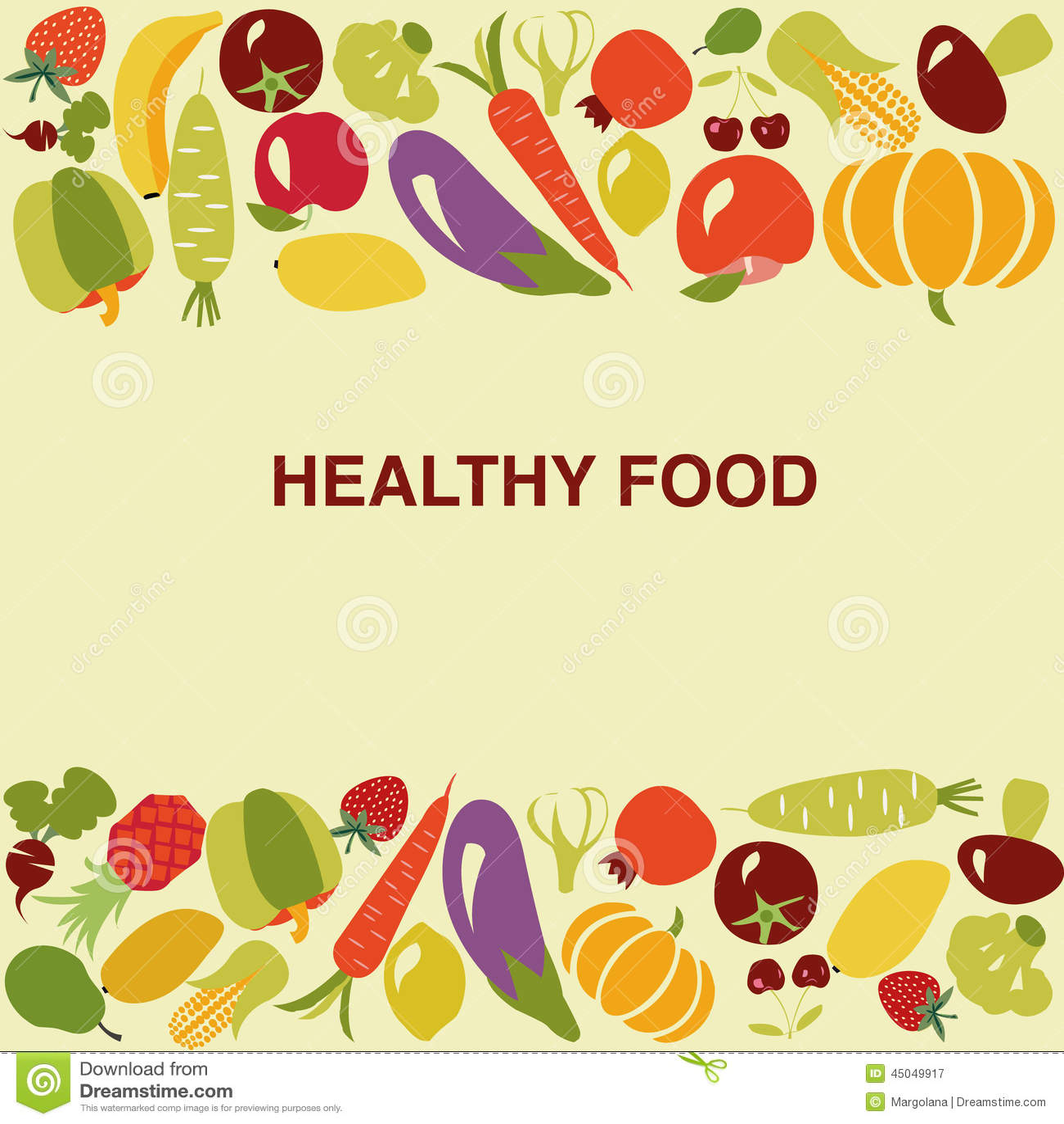 Healthy Food Backgroun...