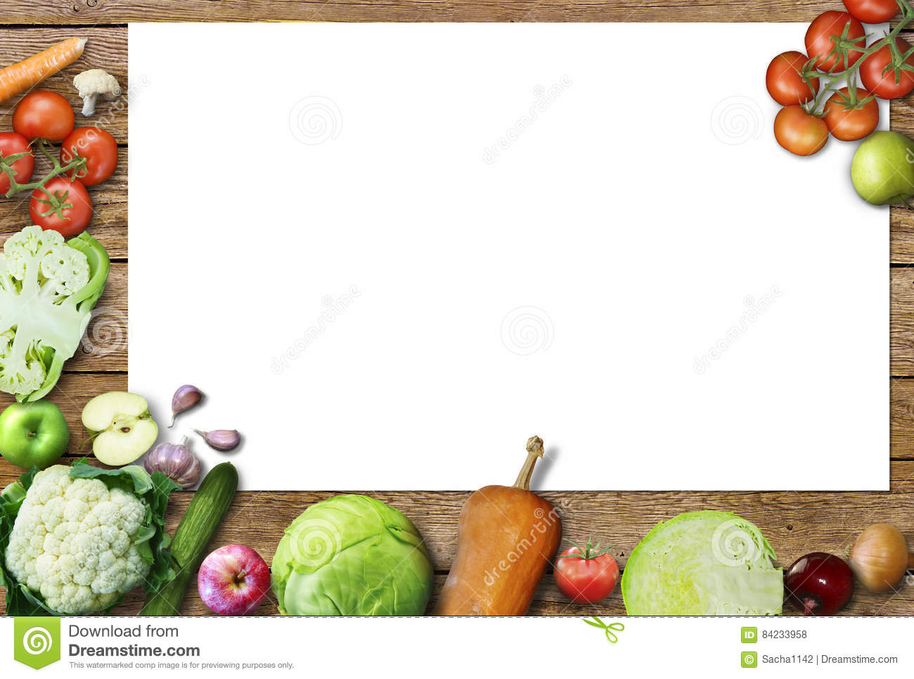 Healthy Food Background Studio Photo Of Different Fruits And Vegetables On Old Wooden Table