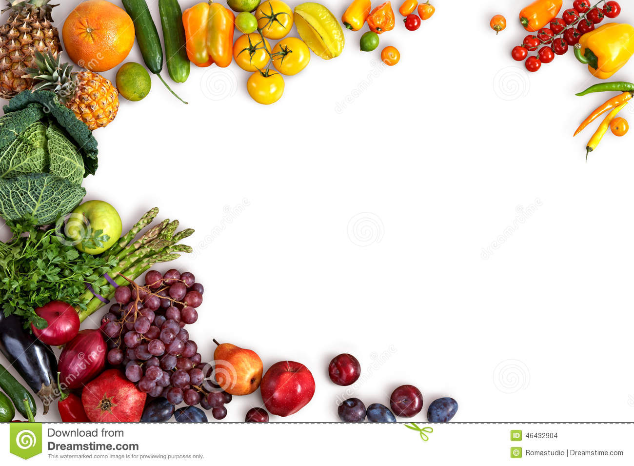 Food Background Healthy Food Background Stock Photo  Image 46432904