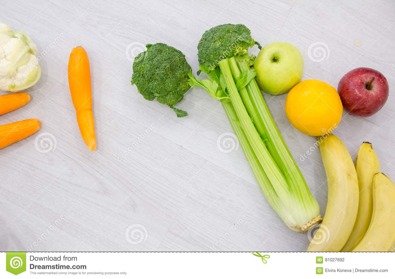 Food background studio photo of different fruits and vegetables - Background Different Food Healthy Table Wooden Fruit Nutrition Wood Onion Texture Vegetable