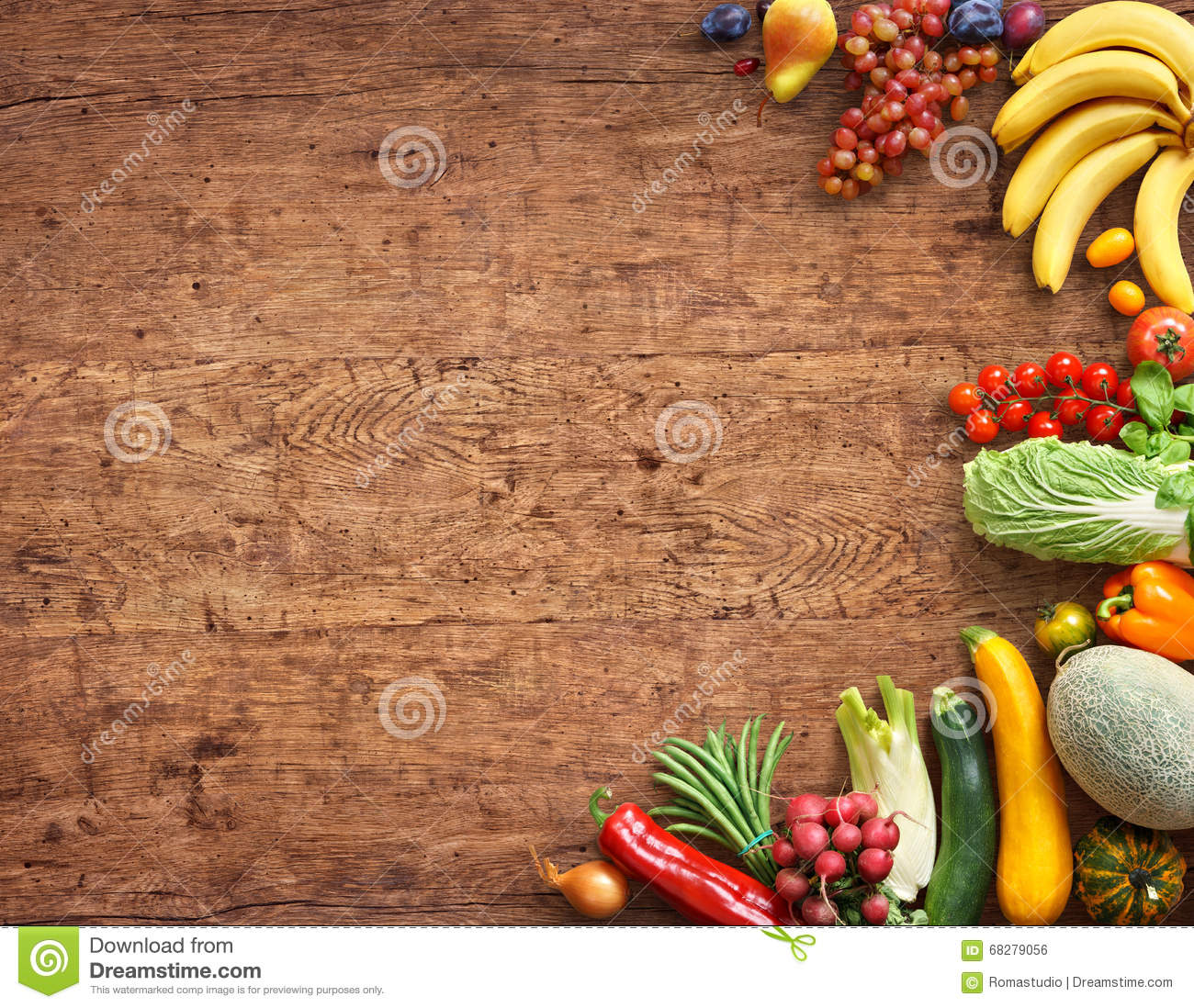 Food background studio photo of different fruits and vegetables - Background Different Food Fruits Healthy High Photography Product Resolution Rustic Studio Table Vegetables