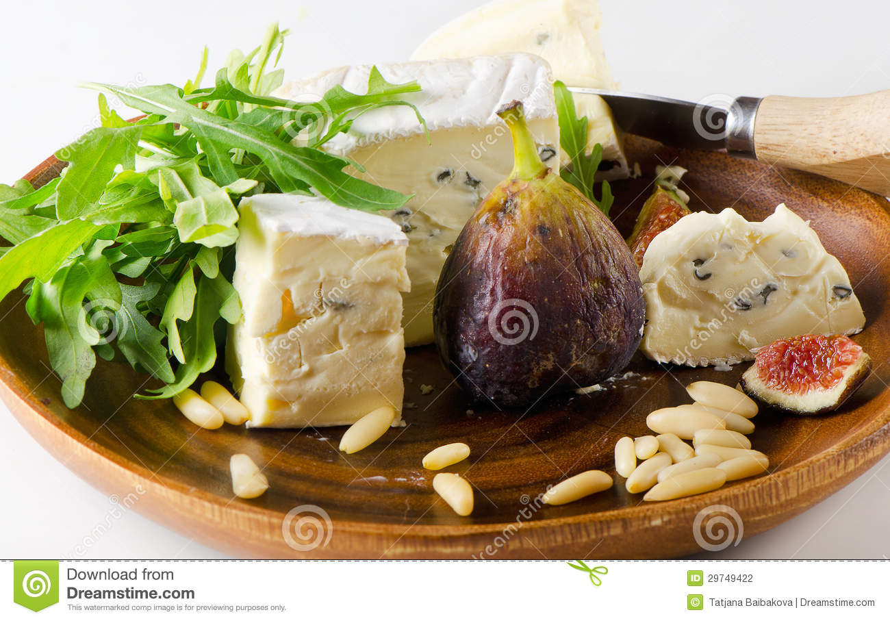 Cheese And Figs Stock Photography - Image: 29749422