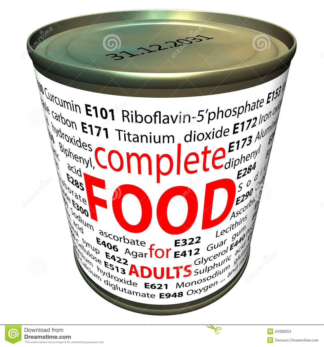 Healthy food and chemistry - food additives