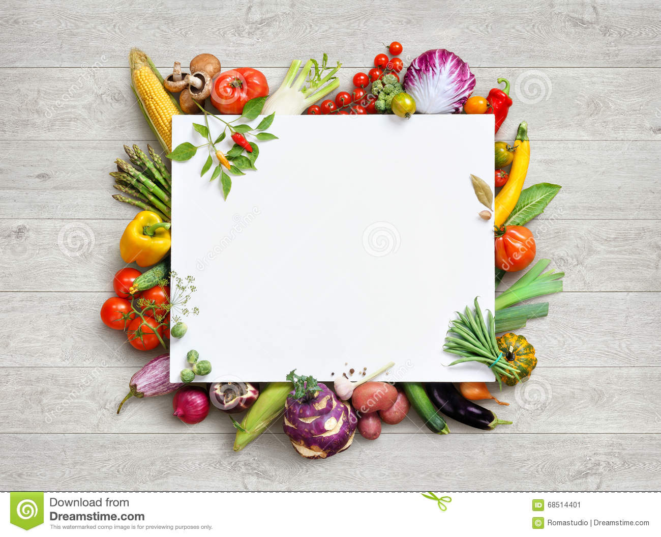 Healthy food and copy space. Studio photo of different fruits and vegetables