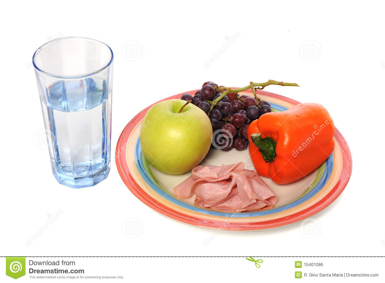 Food And Drink: Healthy Food And Drink Royalty Free Stock Image