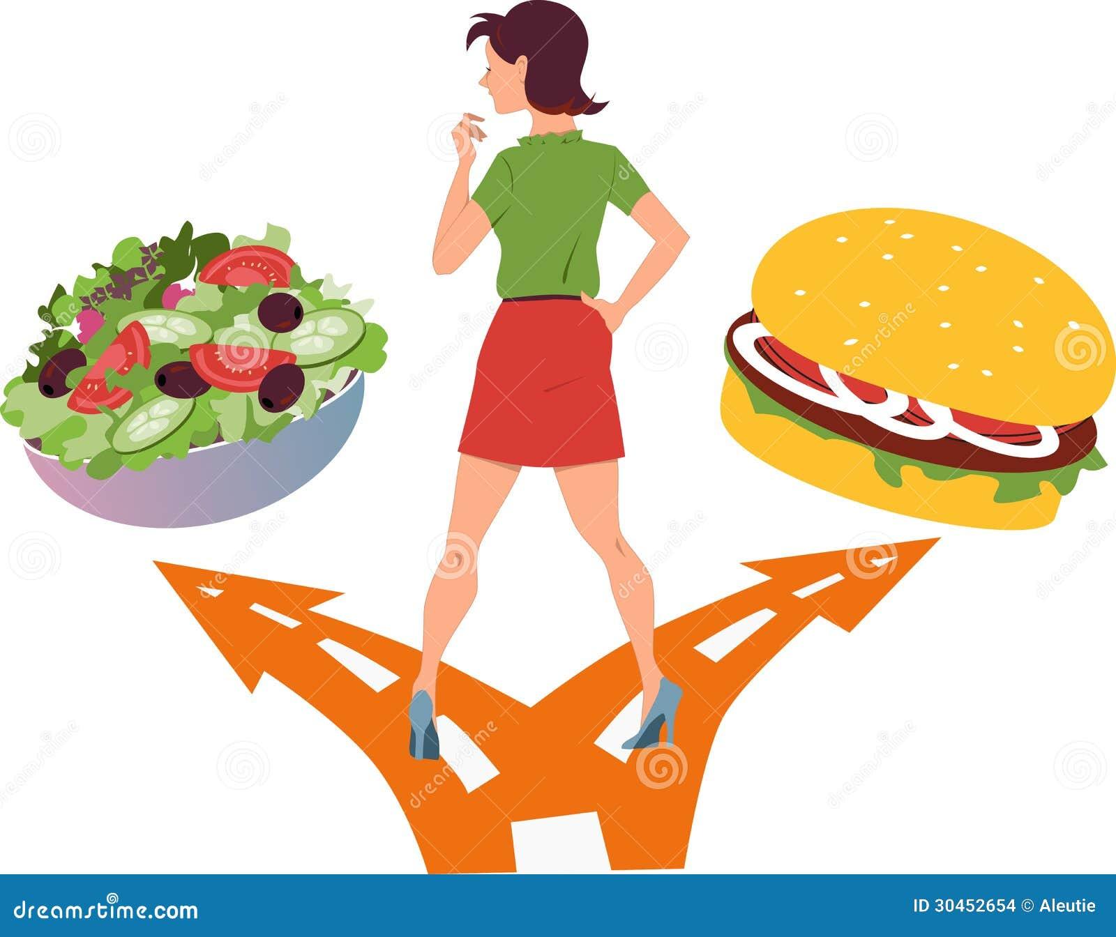 healthy food or fast food stock vector illustration of tasty 30452654. Black Bedroom Furniture Sets. Home Design Ideas