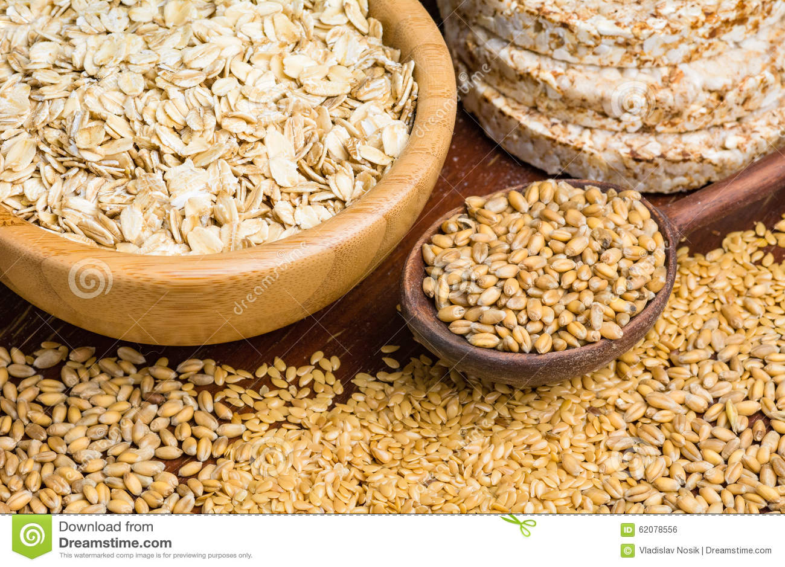 Whole Wheat Rice Cakes