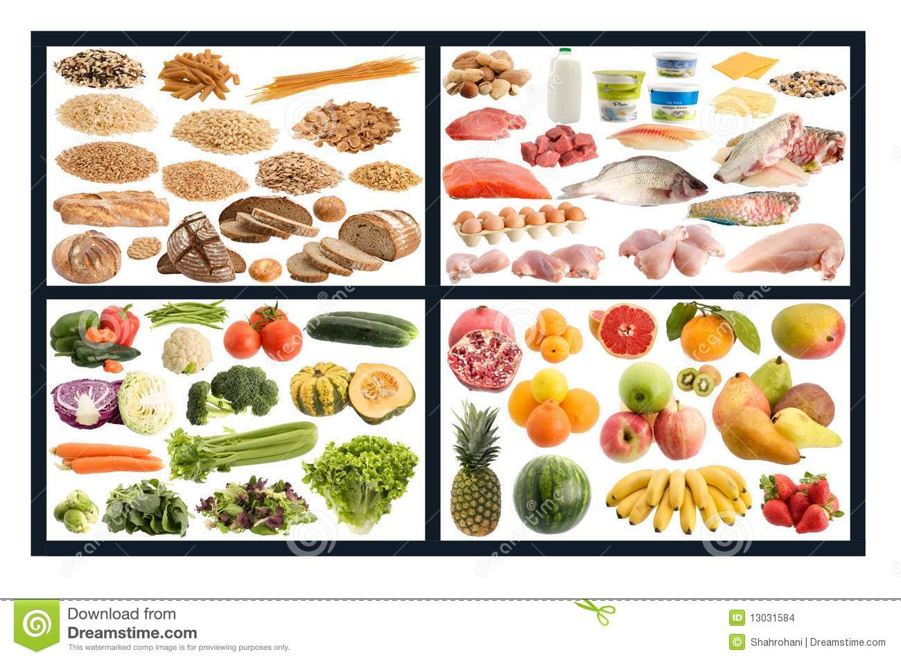 Healthy Food Guide Stock Images Image 13031584 within Healthy Food Food