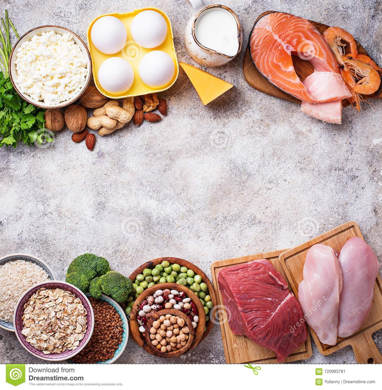Healthy Food High In Protein