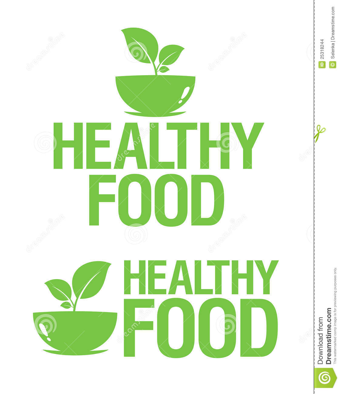 healthy food icons stock vector illustration of ecology