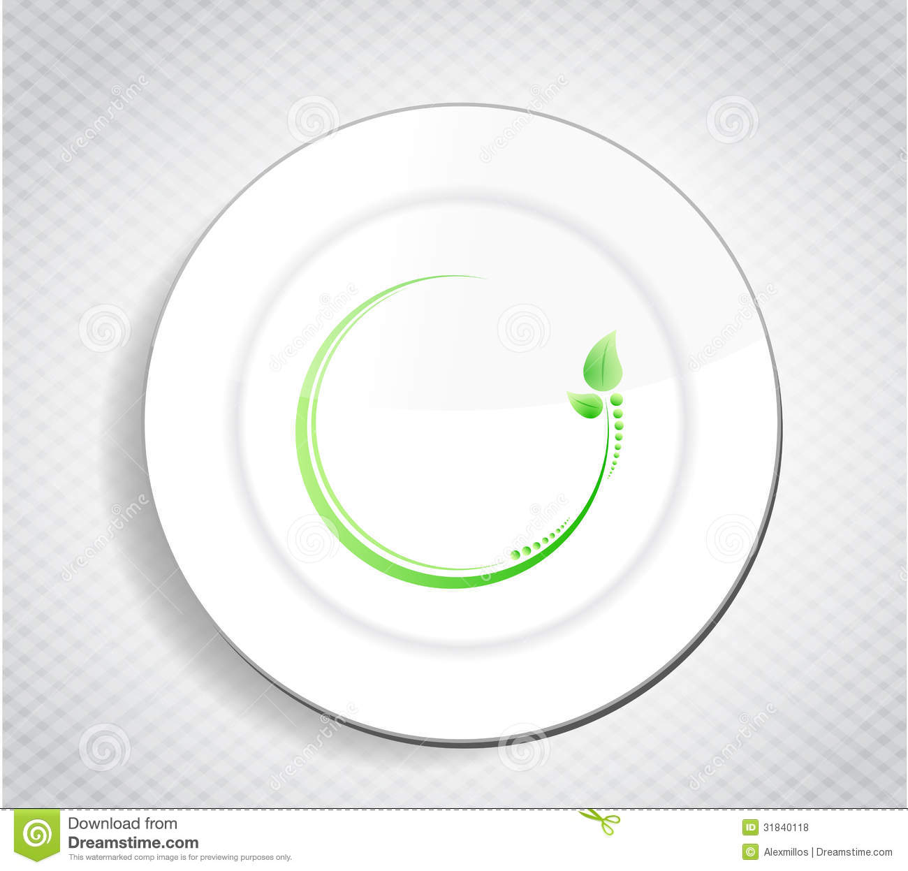 Healthy food leave design over a dish royalty free stock photos royalty free stock photo pronofoot35fo Choice Image