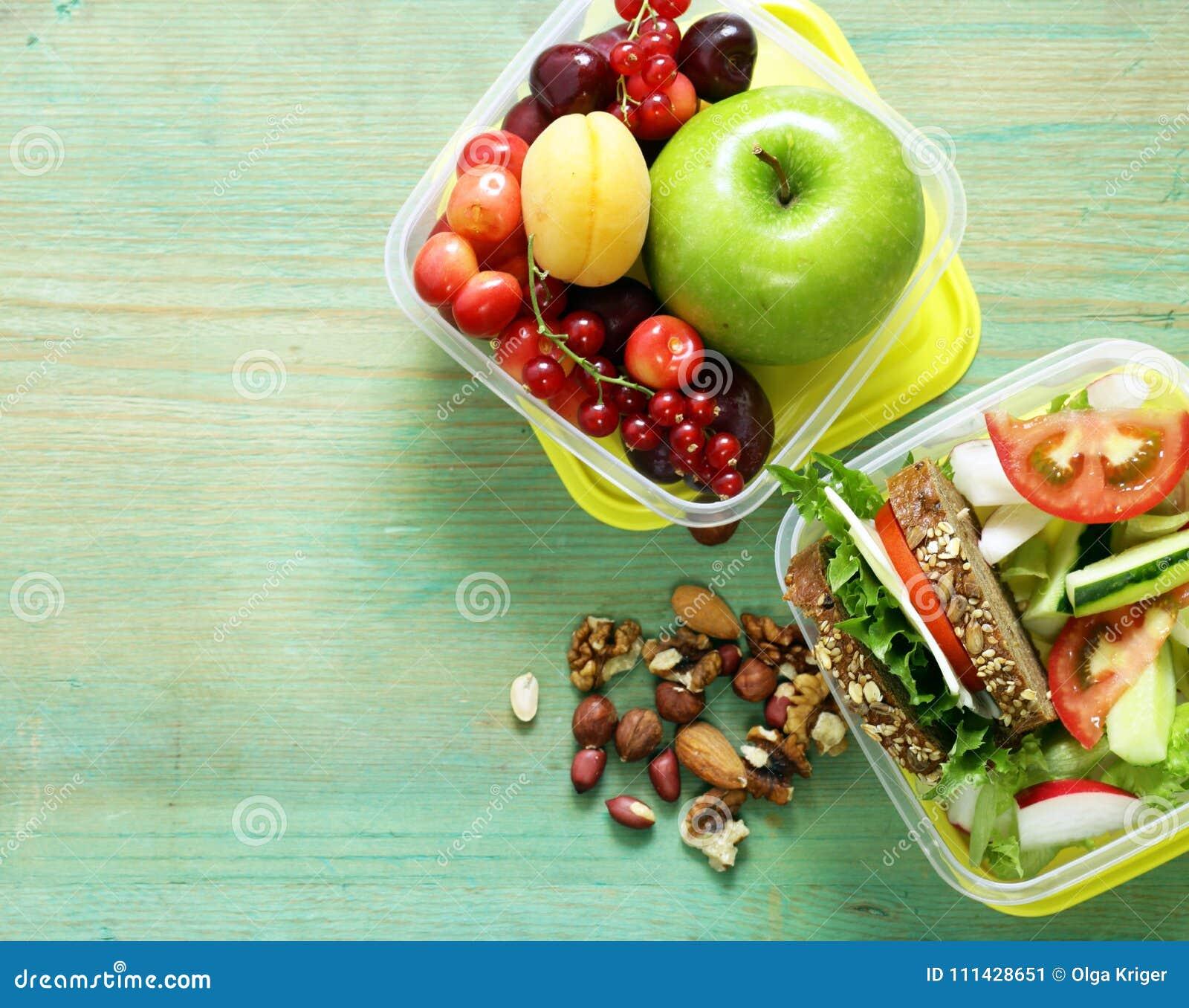 Healthy food - lunch box
