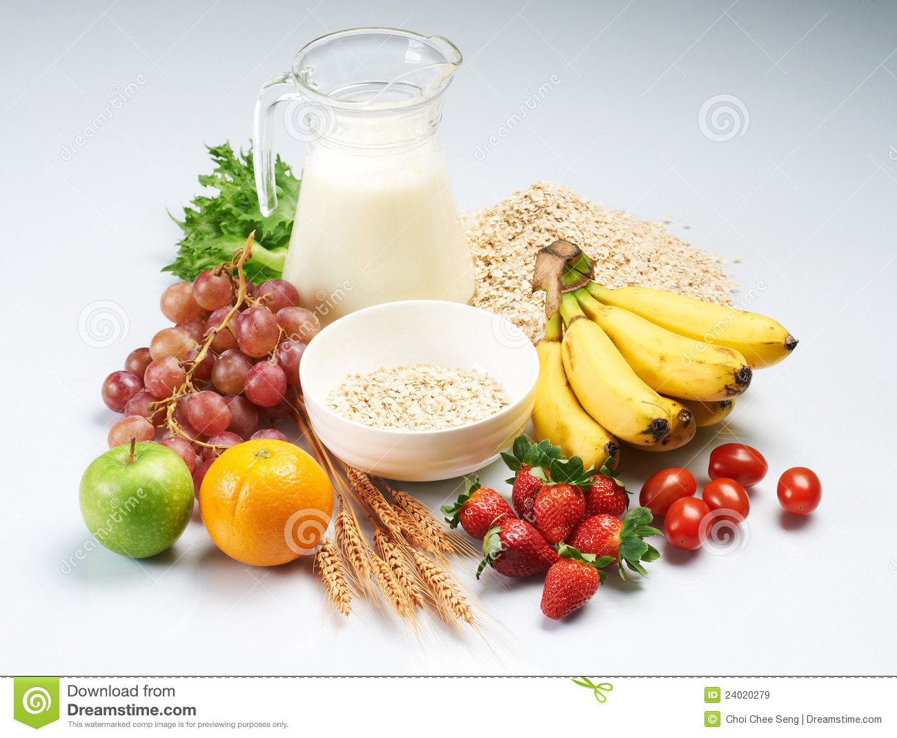 Healthy food and milk stock image image of orange eating for Cuisine healthy