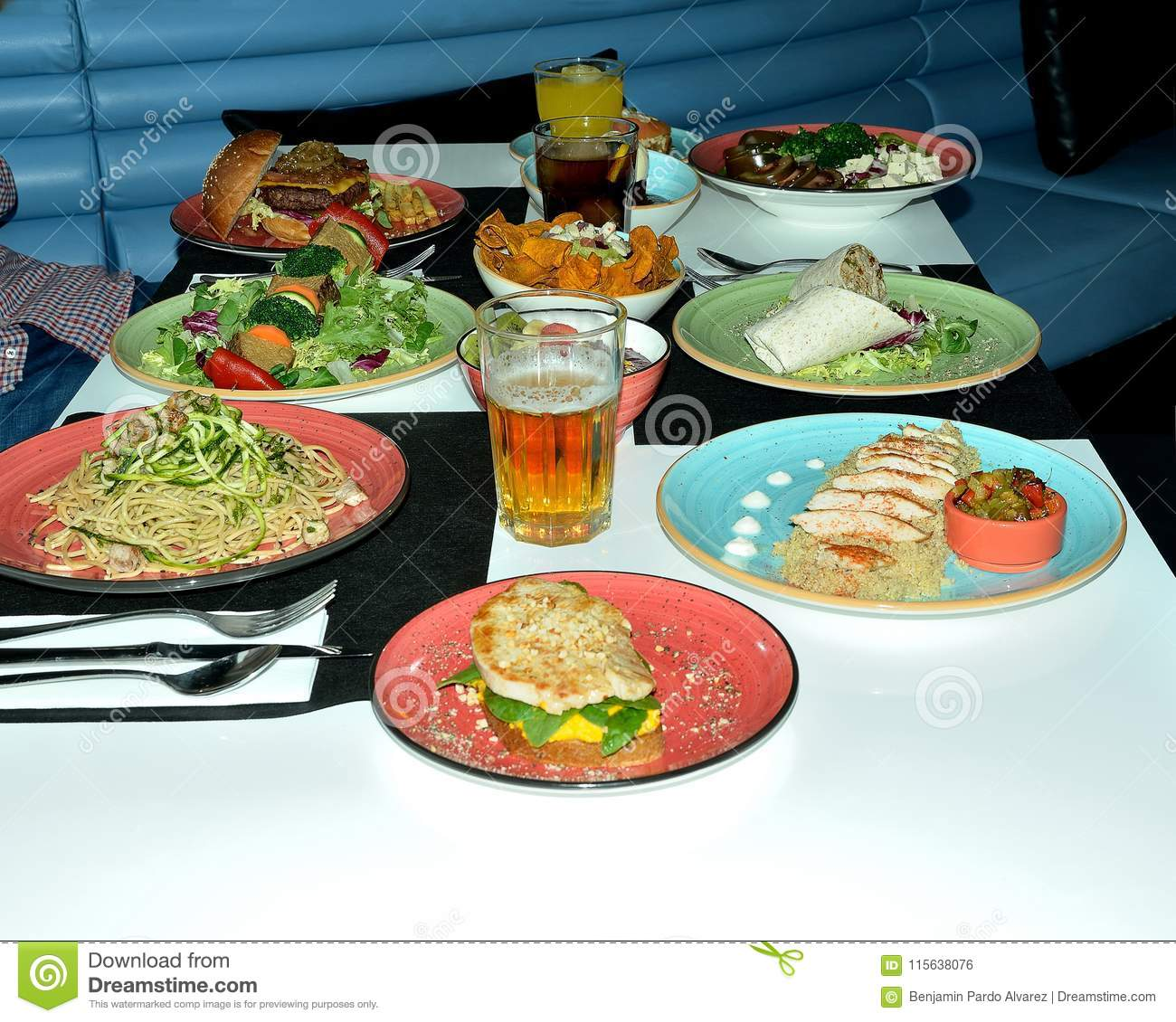 Healthy Food Variety Of Healthy Dishes Recommended For