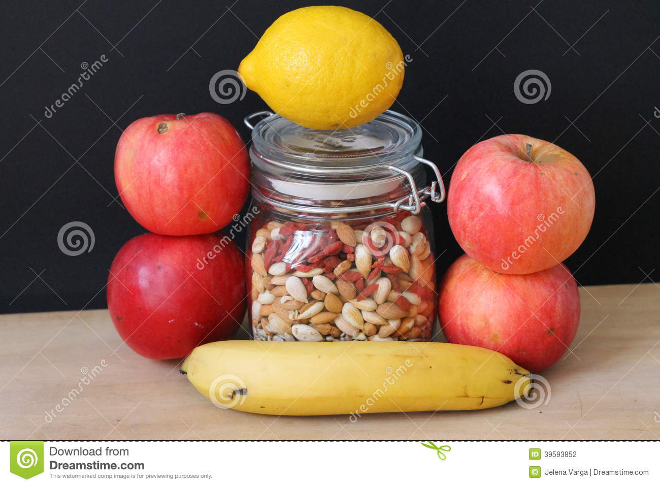healthy snacks with fruit fruit with seeds