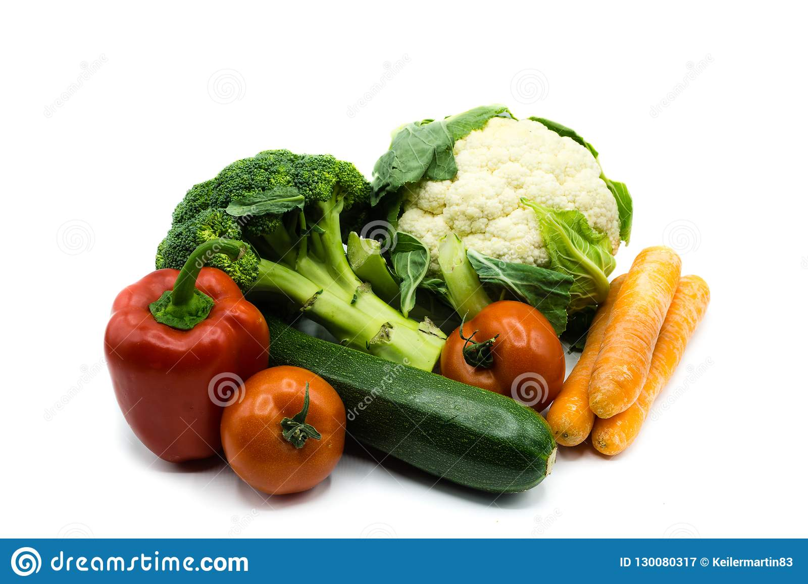 Healthy food vegetables isolated on white background, cut out