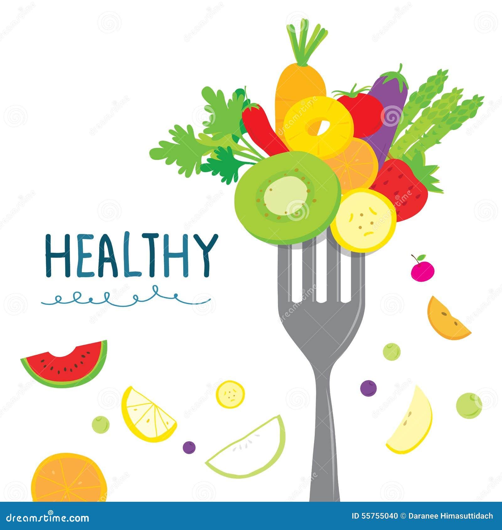 Healthy Fruit Vegetabl...