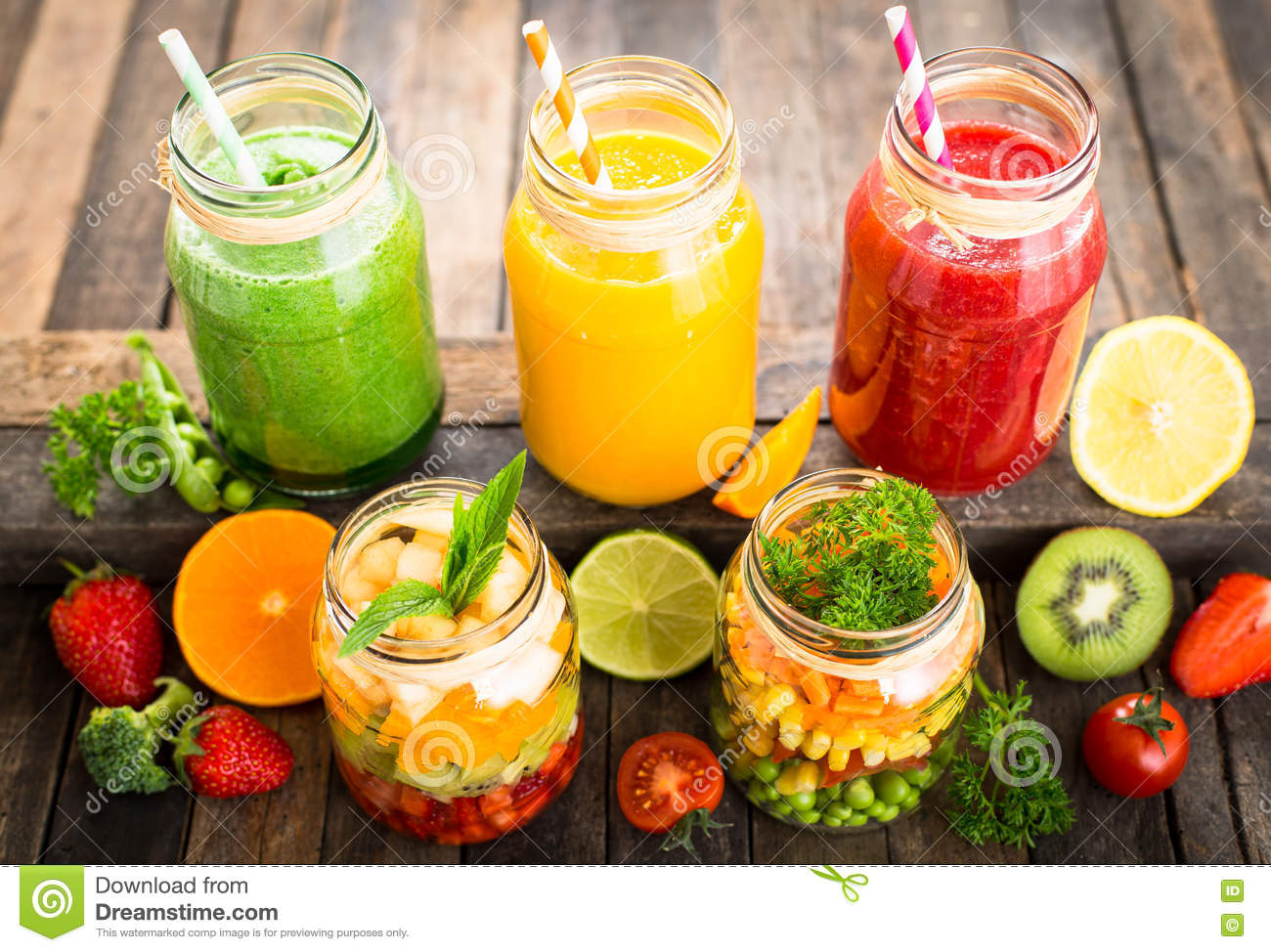 fruit and vegetable smoothie least healthy fruits