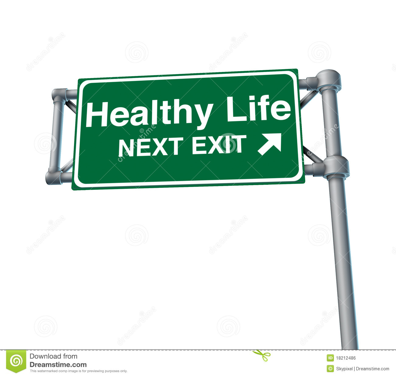 Highway Exit Sign Template Healthy life Freeway Exit Sign