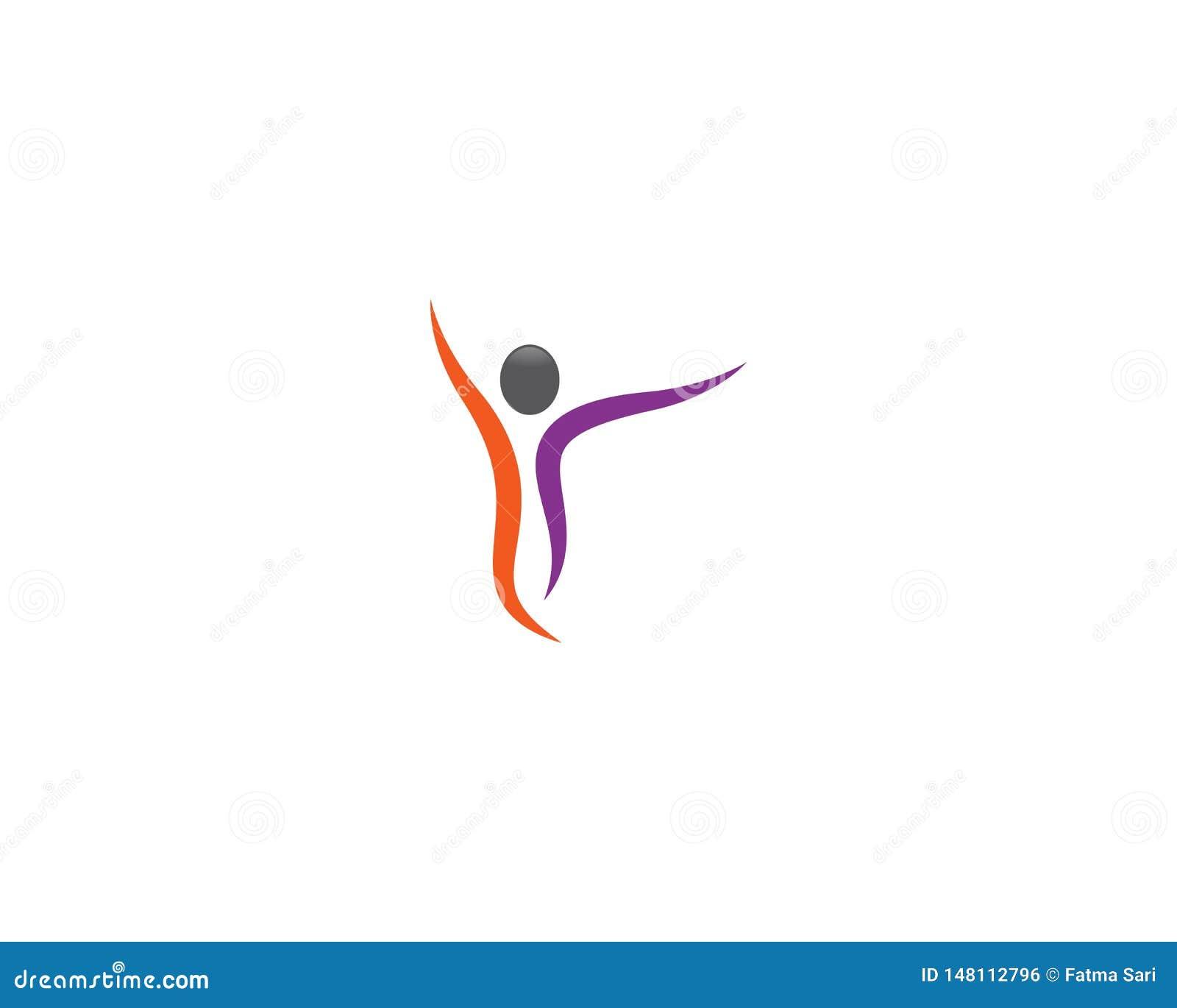 Human health symbol illustration