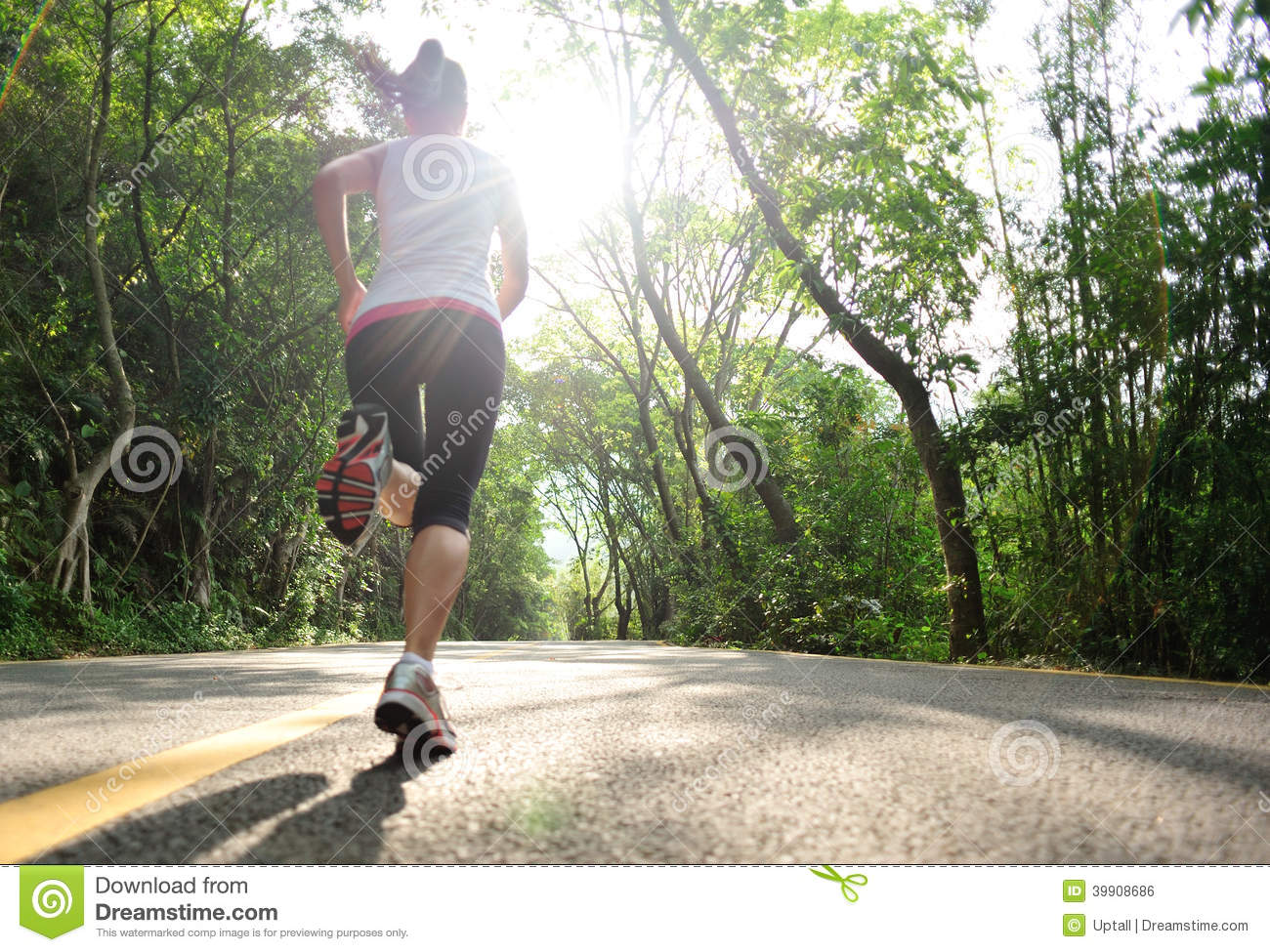 Download Healthy Lifestyle Fitness Sports Woman Running Stock Photo - Image of chinese, back: 39908686