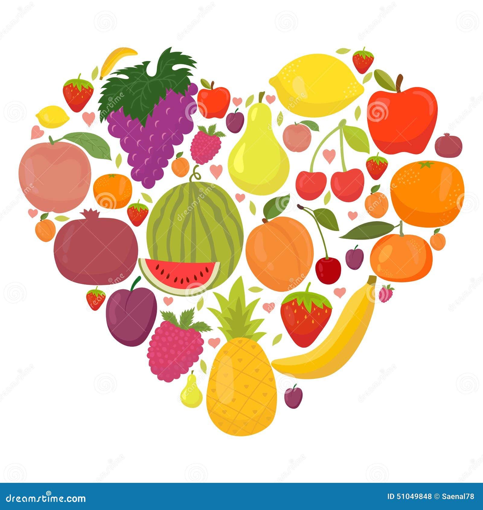 heart fruit healthy fruits