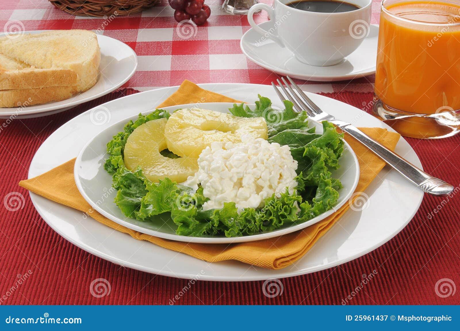 Healthy Low Calorie Diet Breakfast Stock Image