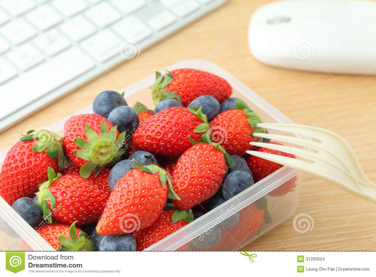 Healthy Lunch Box Stock Images - Image: 31293524