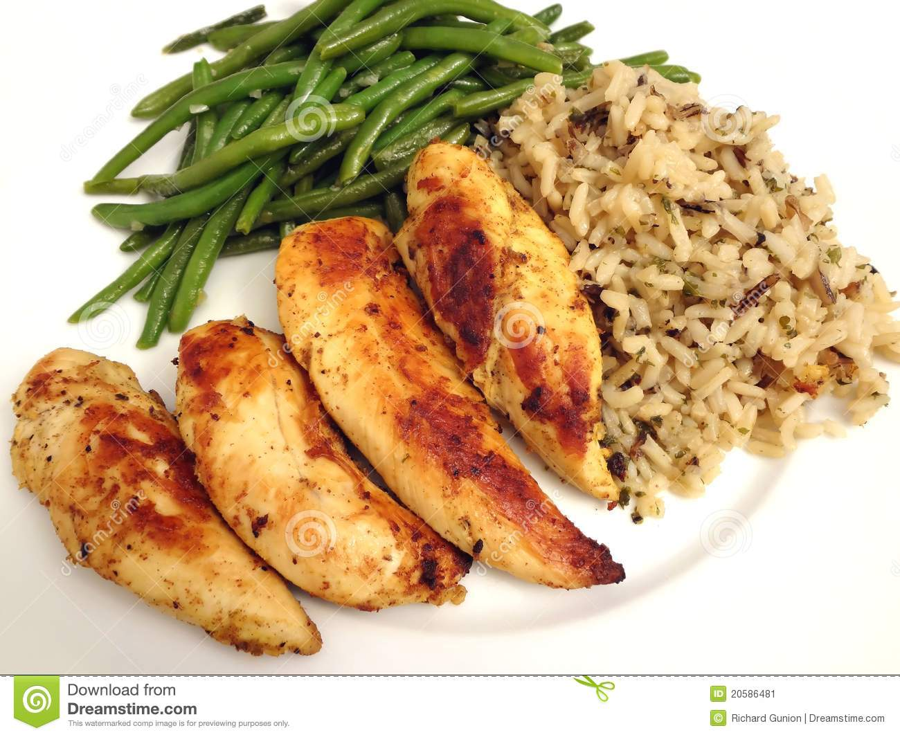 Low Fat Chicken Meal