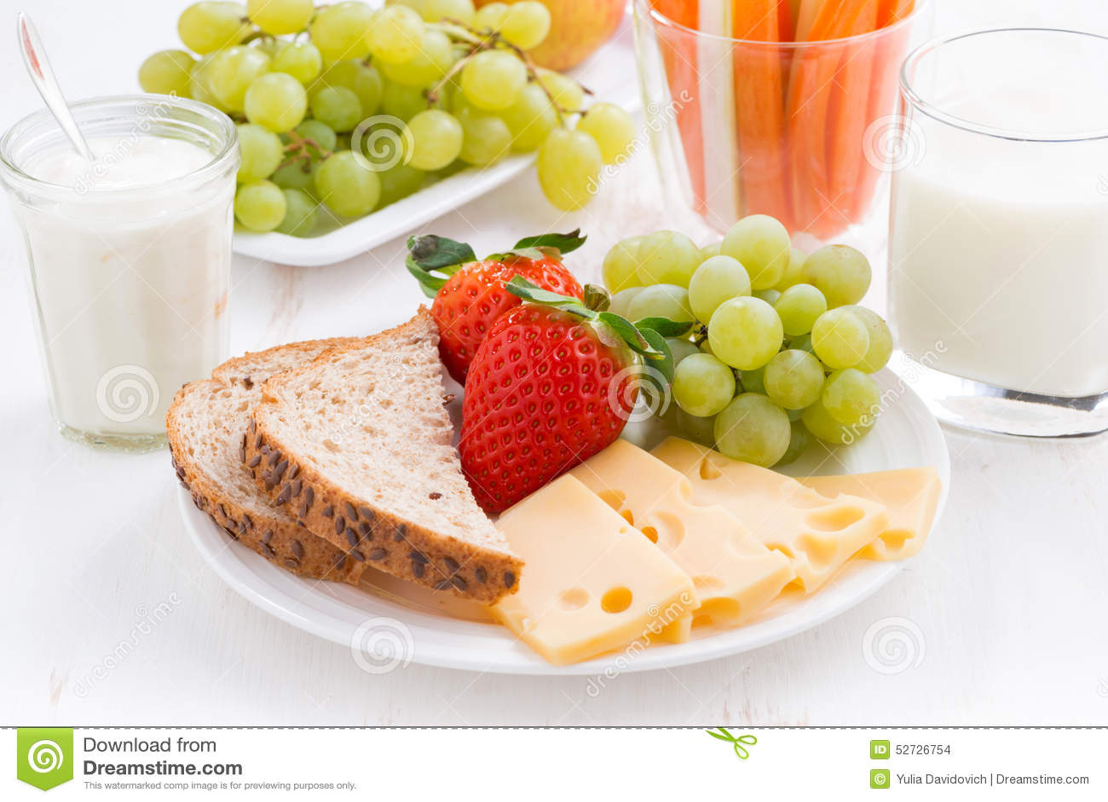 red fruits healthy fruit breakfast ideas