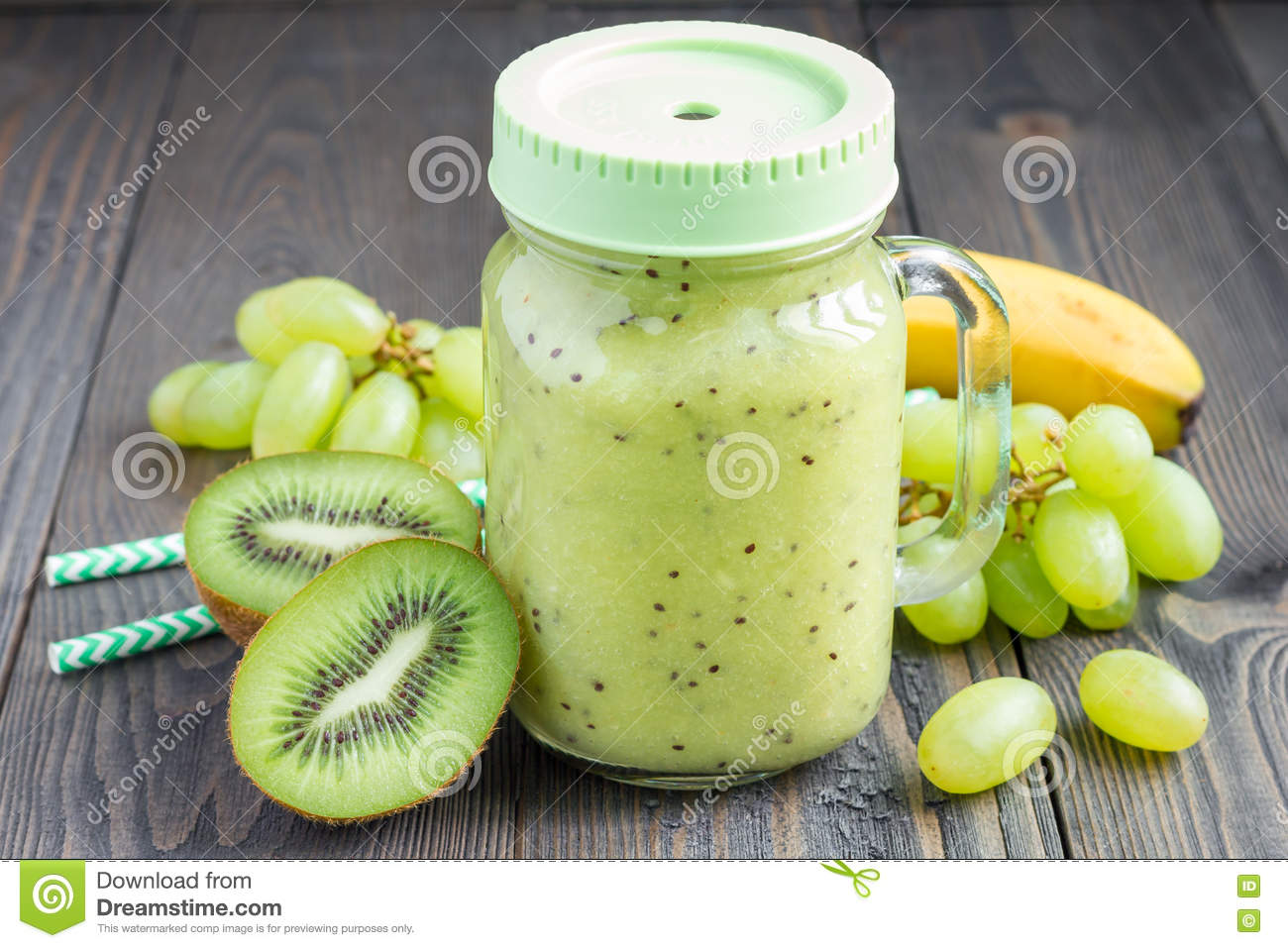 how to make a green grape smoothie
