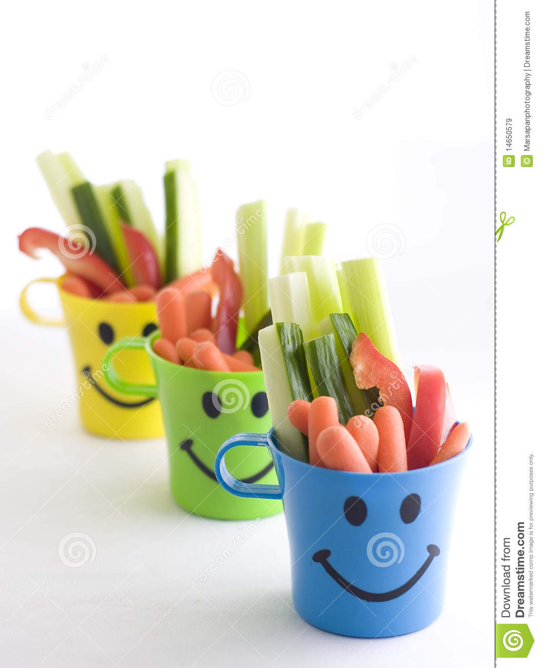 Healthy Snack Stock Image Of Kids Diet Blue
