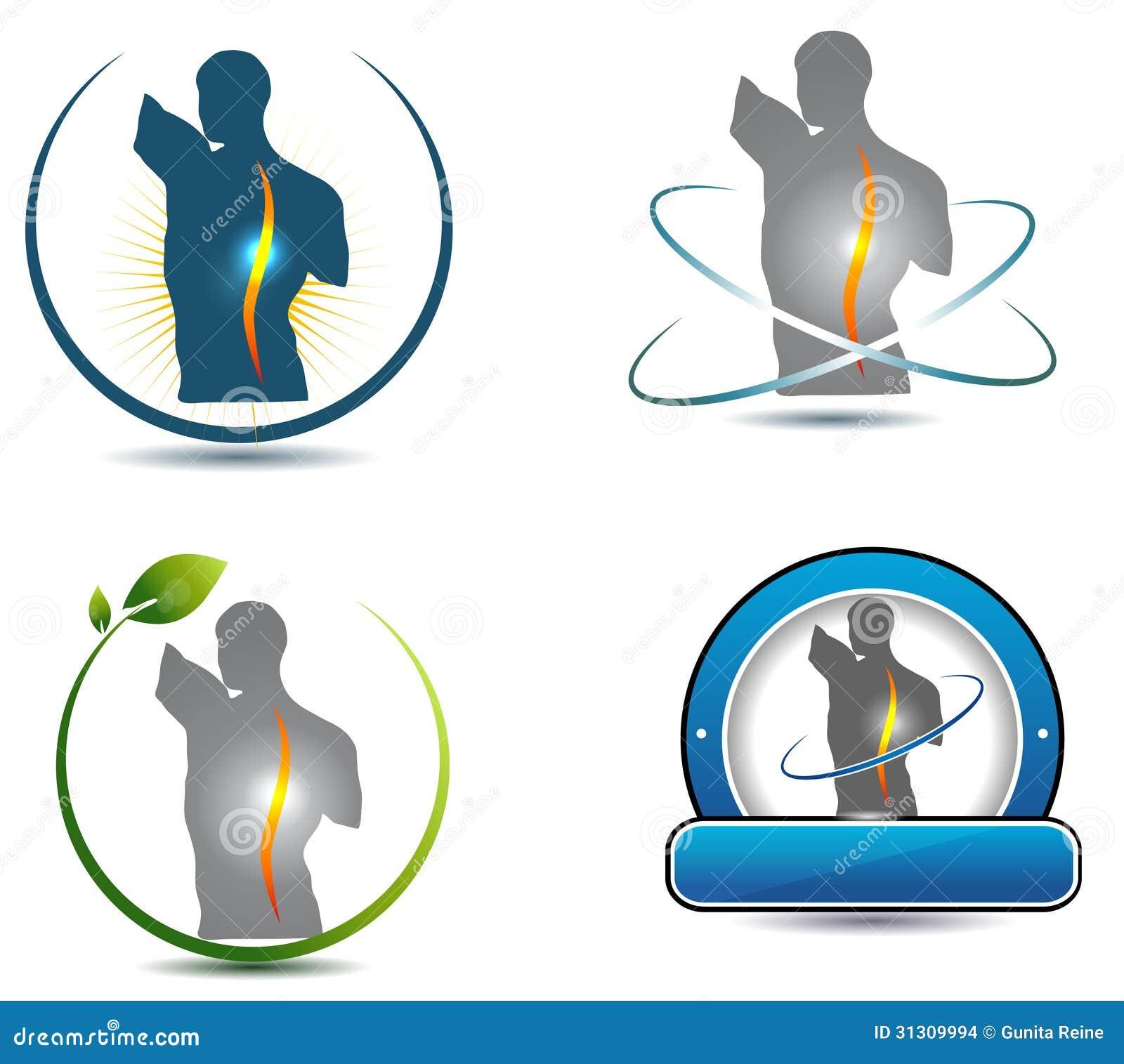 Sports Massage Logo Design