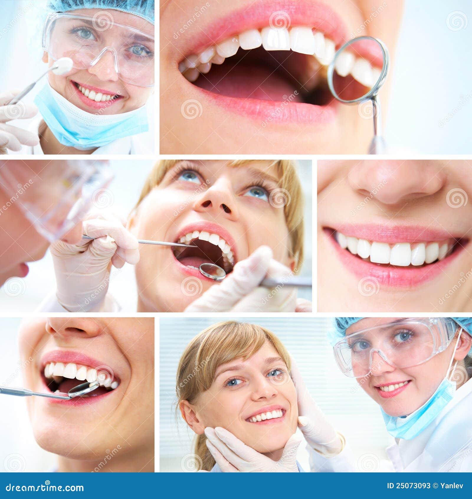 Healthy Teeth And Dental Doctor Stock Photos - Image: 25073093