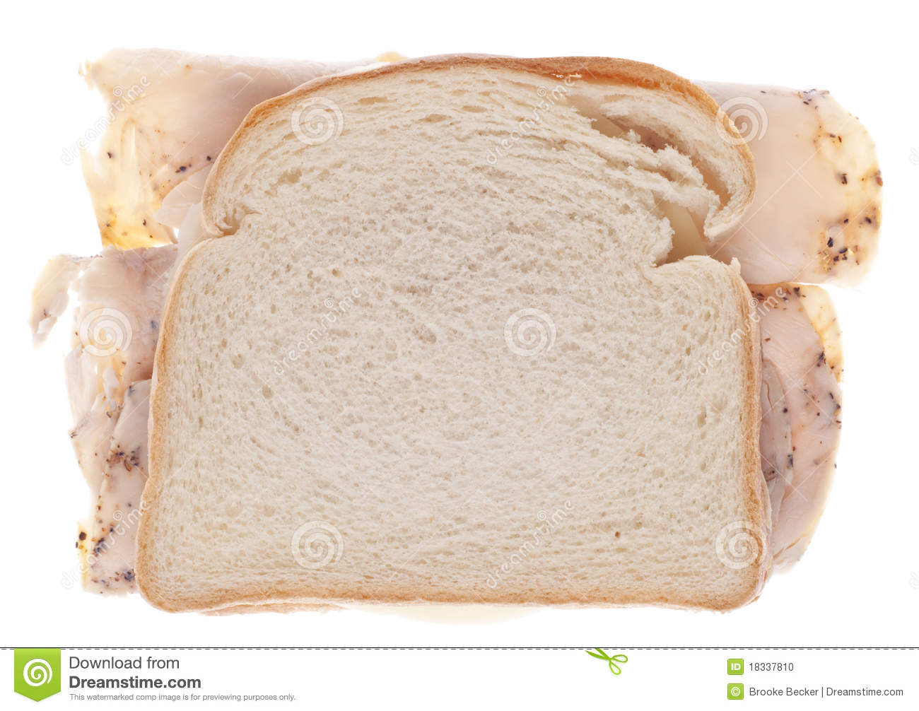 Stock Photo  Healthy Turkey SandwichHealthy Turkey Sandwich