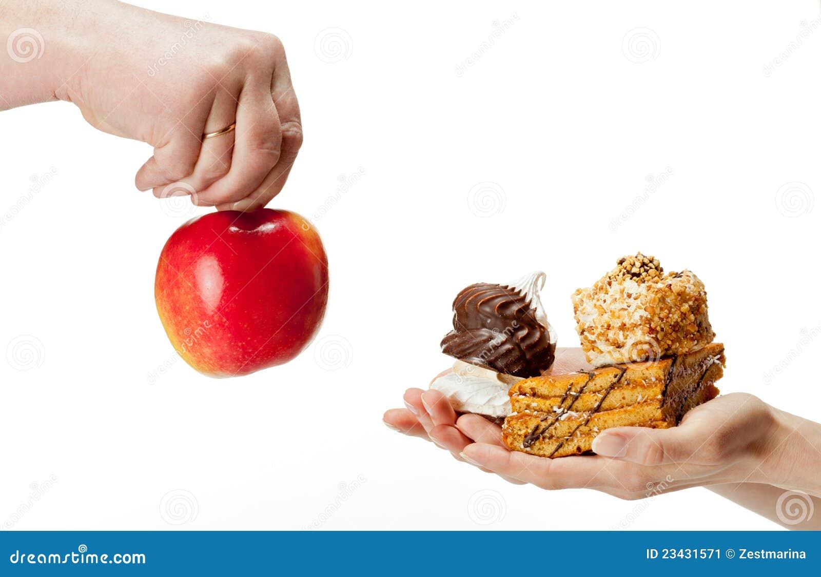Unhealthy healthy meal